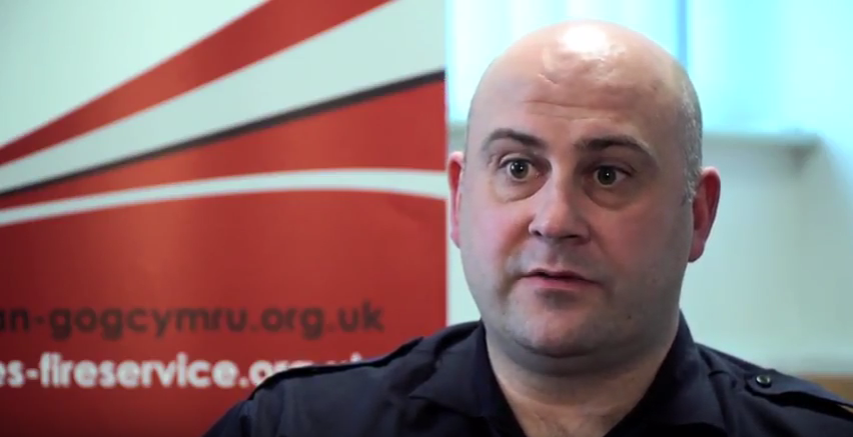 Public Health Wales MECC Case Study - Steve Robert, Fire and Rescue Services