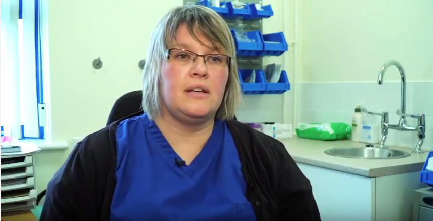 Public Health Wales MECC Case Study - Angharad Lewis, Healthcare Assistant